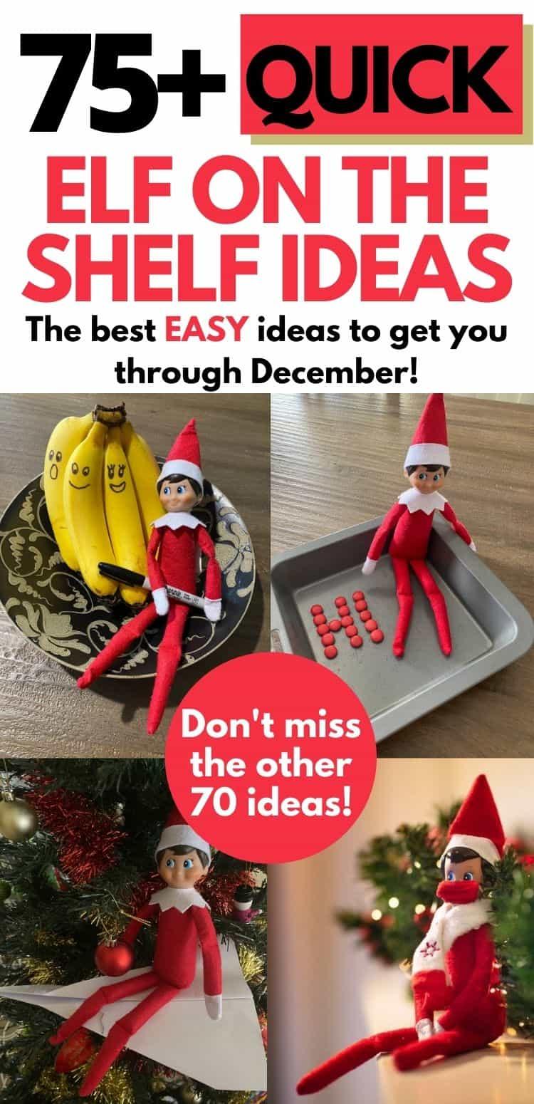 Quick Elf ideas