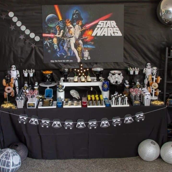 Star Wars party theme