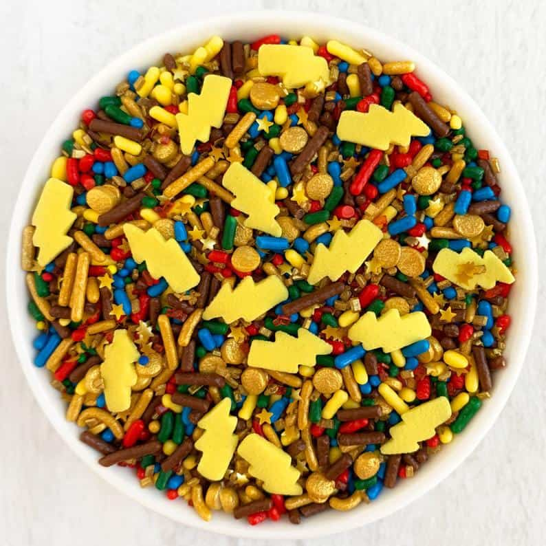 lightning bolt sprinkles