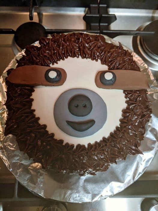 Sloth Cake Ideas