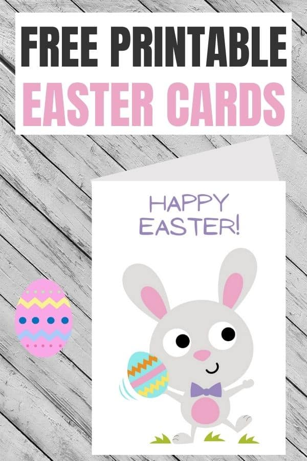 Easter card printables