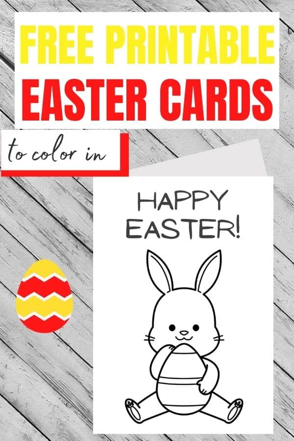 Easter card to make