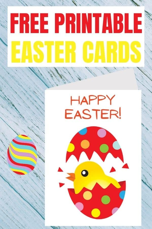 Easter cards printable