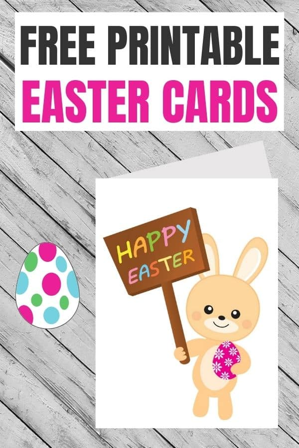 free Easter cards printable