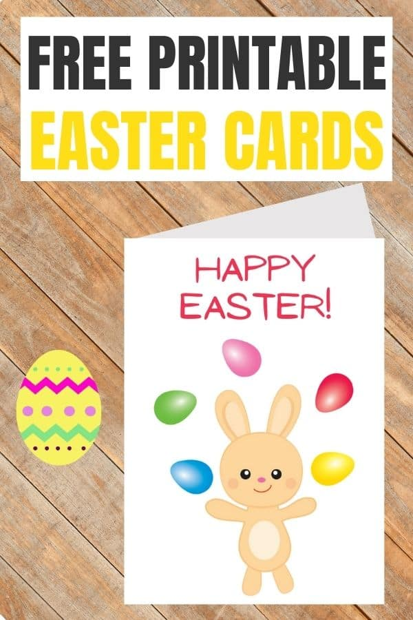 free Easter cards to print