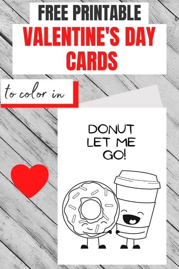 print valentine card