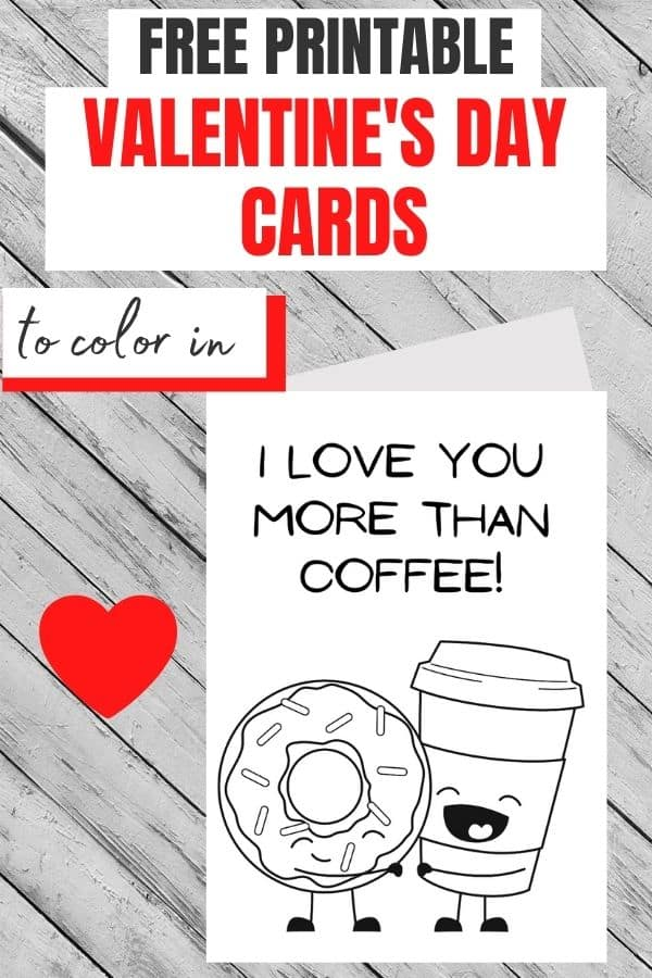 print valentine cards free