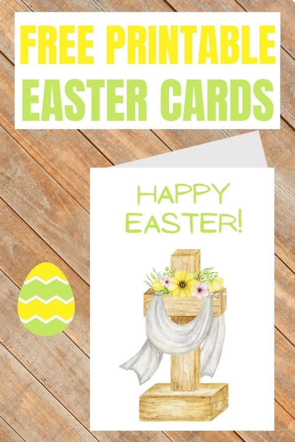 printable religious Easter cards