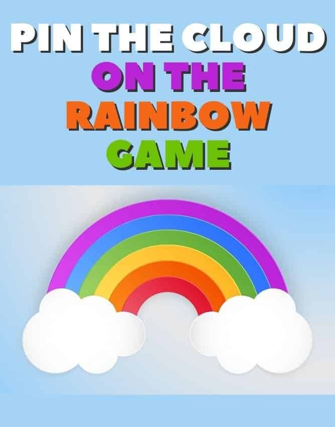 pin the cloud on the rainbow game