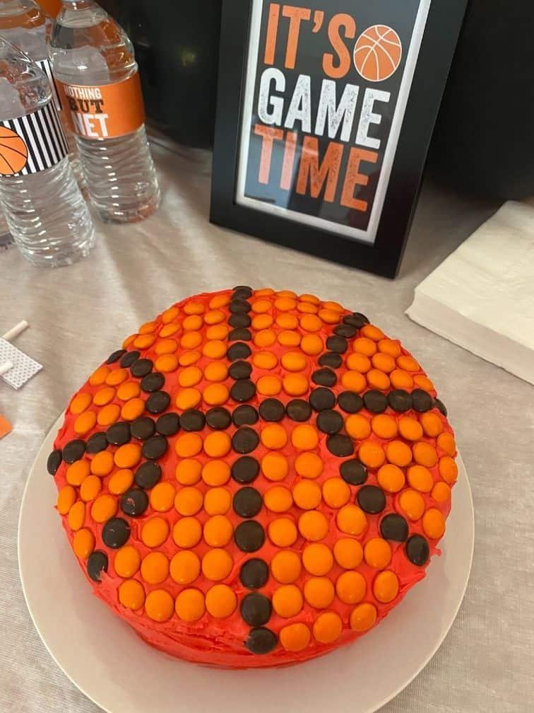 basketball cake ideas