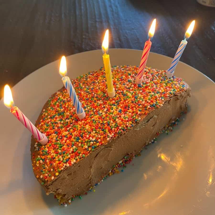 half cake ideas