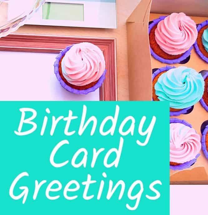 birthday card greetings