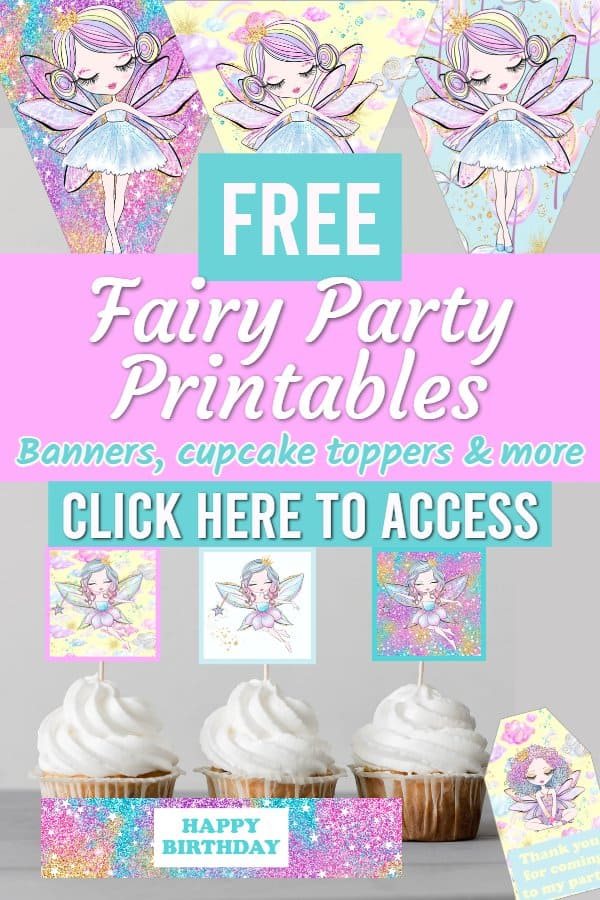 fairy birthday party - fairy party decorations