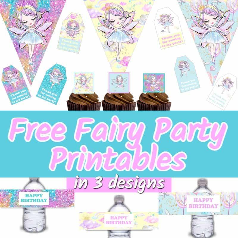 fairy birthday party