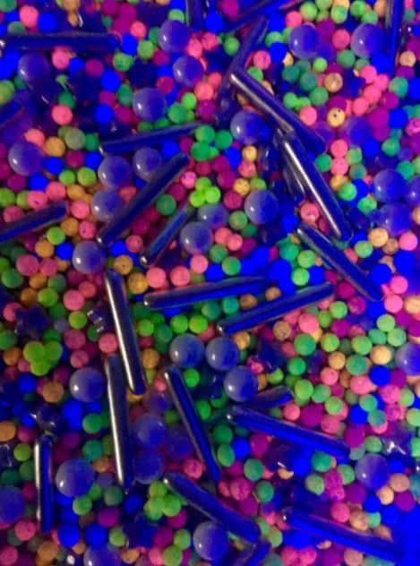 glow in the dark edible sprinkles